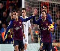 شاهد| «ميسي» يقود برشلونة لتعادل صعب مع فالنسيا