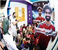 غادة والي تزور جناح صندوق مكافحة وعلاج الإدمان بمعرض الكتاب