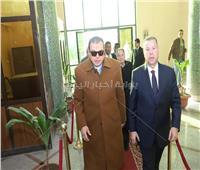 صور| محافظ بني سويف يستقبل وزير القوى العاملة