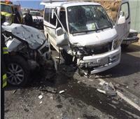 مصرع وإصابة 14 مواطنًا علي الطريق الدولي بسيناء
