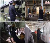 فيديو  «بوابة أخبار اليوم» داخل ورش تصليح «المترو»..عمرة كل 3 أيام للقطار