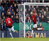 فيديو  مانشستر يونايتد ينجو من الخسارة أمام ليستر بـ«هدف راشفورد»