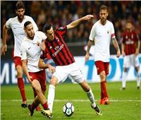 بث مباشر  مباراة روما وميلانفي قمة الدوري الإيطالي