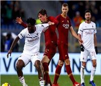 شاهد  التعادل يسود قمة روما وميلان في الدوري الإيطالي