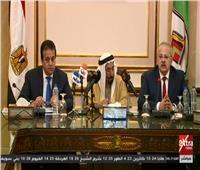 بث مباشر| كلمة حاكم إمارة الشارقة بجامعة القاهرة