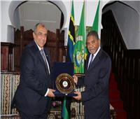 صور  وزير الزراعة يلتقي رئيس تنزانيا ويؤكد على أهمية تطوير المجال الزراعي