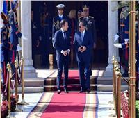 إنفوجراف.. أحدث جوانب التعاون بين مصر وفرنسا