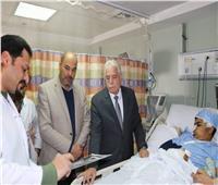 محافظ جنوب سيناء يتفقد مستشفى شرم الشيخ الدولي