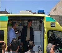 «مستقبل وطن»: قافلة طيبه للكشف المجاني لأهالي قرية «عين غصين» بالإسماعيلية