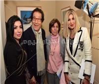 صور| الفقي وشنودة وخالد جلال يحتفلون بافتتاح معرض فاروق حسني