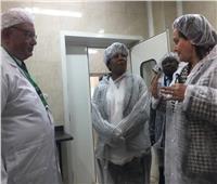 «محرز» ووزيرة الثروة الحيوانية بزامبيا تتفقدان معهدي صحة الحيوان والأمصال