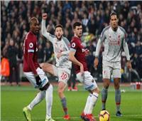 الشوط الأول| فيديو.. ليفربول يتعادل مع وست هام إيجابيًا