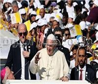 صور| أبرز ٦ مشاهد في قداس البابا فرنسيس