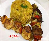 طبق اليوم.. «الشيش كباب» مع أرز مشاوي
