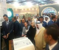 صور| تفاصيل زيارة حاكم الشارقة لمعرض القاهرة الدولي للكتاب