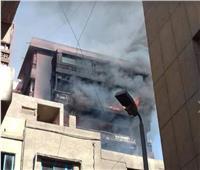 الصحة: الدفع بـ4 سيارات إسعاف لموقع حريق مجاور لمستشفى الخانكة