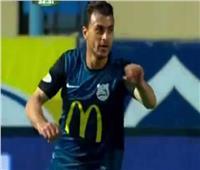 محمود قاعود يقلص النتيجة إلى 2-1 أمام الأهلي