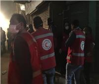 الهلال الأحمر يُقدم الدعم النفسي لمصابي وأسر ضحايا عقار الأقصر