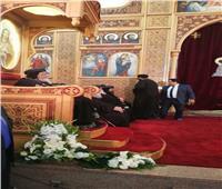 البابا تواضروس يترأس صلوات العشية بكنيسة الأنبا بيشوي في الإسماعيلية