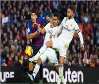بث مباشر| برشلونة وريال مدريد في كلاسيكو الكأس