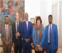 وزيرا ثقافة مصر وجيبوتى يبحثان التعاون المشترك بين البلدين