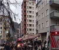 مصرع 3 أشخاص وإصابة 15 آخرين في انهيار مبنى باسطنبول