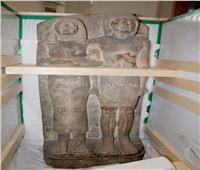 نقل تماثيل «خفرع وأمنحوتب وأوزوريس» إلى المتحف الكبير
