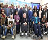 افتتاح أول قاعة تعليمية لذوي الإعاقة بآداب عين شمس