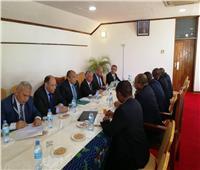 صور| «أبوستيت» يبحث مع «وزراء تنزانيا» إنشاء مزرعة نموذجية مشتركة