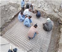 بدء أعمال ترميم تمثال رمسيس الثاني بسوهاج