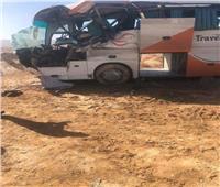 ارتفاع أعدد المصابين في حادث الأتوبيسين بجنوب سيناء إلى 20 مصابا