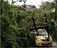 مقتل 5 على الأقل في عاصفة قوية ضربت ريو دي جانيرو