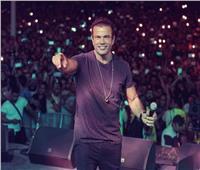 صور| وفد أمني يطلع على جاهزية حفل عمرو دياب