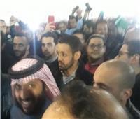 تركي آل الشيخ يعقد جلسة مغلقة مع مجلس الزمالك