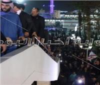 تركي آل الشيخ يفتتح المبنى الاجتماعي الجديد بالزمالك