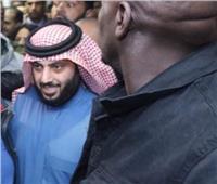 تركي آل الشيخ يتوجه إلى منزل رئيس الزمالك