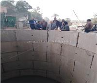 صور  محافظة القاهرة تتابع أعمال مشروع الصرف الصحي بالمطرية