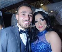 صور| لاعبو الزمالك يحتفلون بخطوبة محمد عنتر ودنيا الحلو