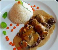 طبق اليوم  طريقة عمل « بيكاتا اللحم بالمشروم»