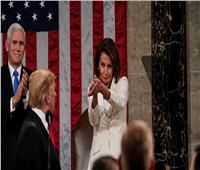زعيمة الديمقراطيين في مجلس النواب تعلق على طريقتها في التصفيق لترامب