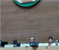 «نجم» تقدم تقريرًا للمجلس التنفيذي للاتحاد الافريقي