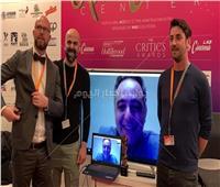 بالصور.. تكريم رئيس مهرجان القاهرة في برلين عبر «سكايب»