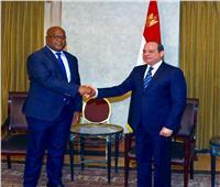 الرئيس السيسي يلتقي رئيس جمهورية الكونغو