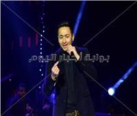 صور| حمادة هلال يُشعل أكاديمية ٦ أكتوبر بأغنيته الجديدة «اشرب شاي»