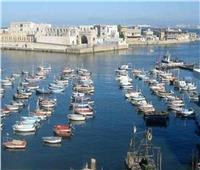 إغلاق ميناء البرلس لاستمرار سوء الأحوال الجوية