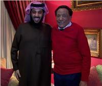 «آل الشيخ» يزور «الزعيم» بعد غيابه عن توقيع اتفاقيات فنية بين مصر والسعودية