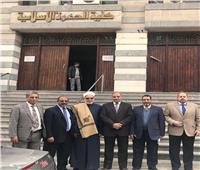 صور| رئيس جامعة الأزهر يطمئن ميدانيًا على انتظام الدراسة