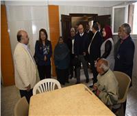 غادة والي تزور دار الهدايا للرعاية الاجتماعية بالإسكندرية