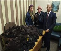 ضبط محاولة تهريب 35 كيلو «شعر مُستعار» مع راكب سودانية بالمطار