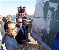 رئيس الوزراء: محاور لتنمية الصعيد.. وخلال أسابيع وضع حجر أساس محور دراو